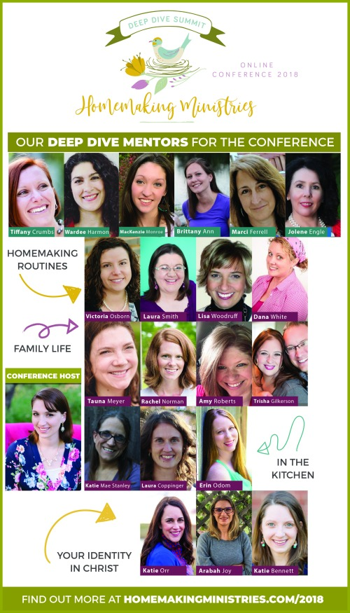 Homemaking Ministries Conference 2018 @mferrell