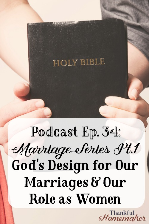 God's Design for Our Marriages & Our Role as Women @mferrell