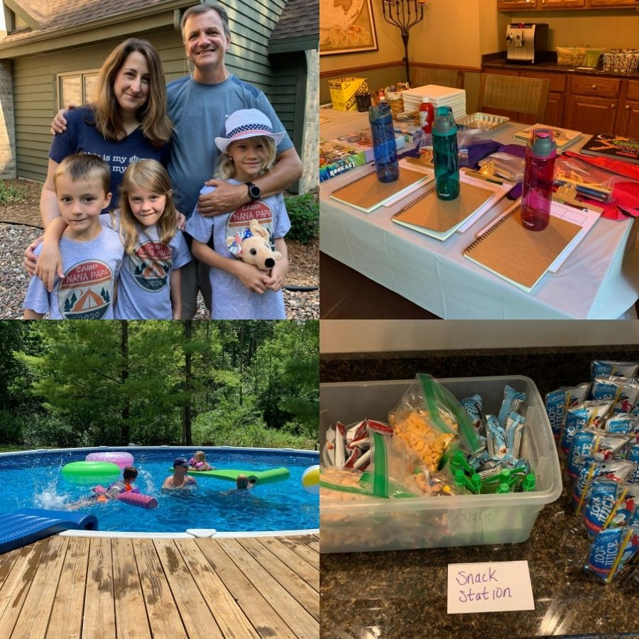 This summer, we decided to create a camp experience for our grandkids in our backyard. It was a fun way to create sweet memories with our grandchildren. @mferrell