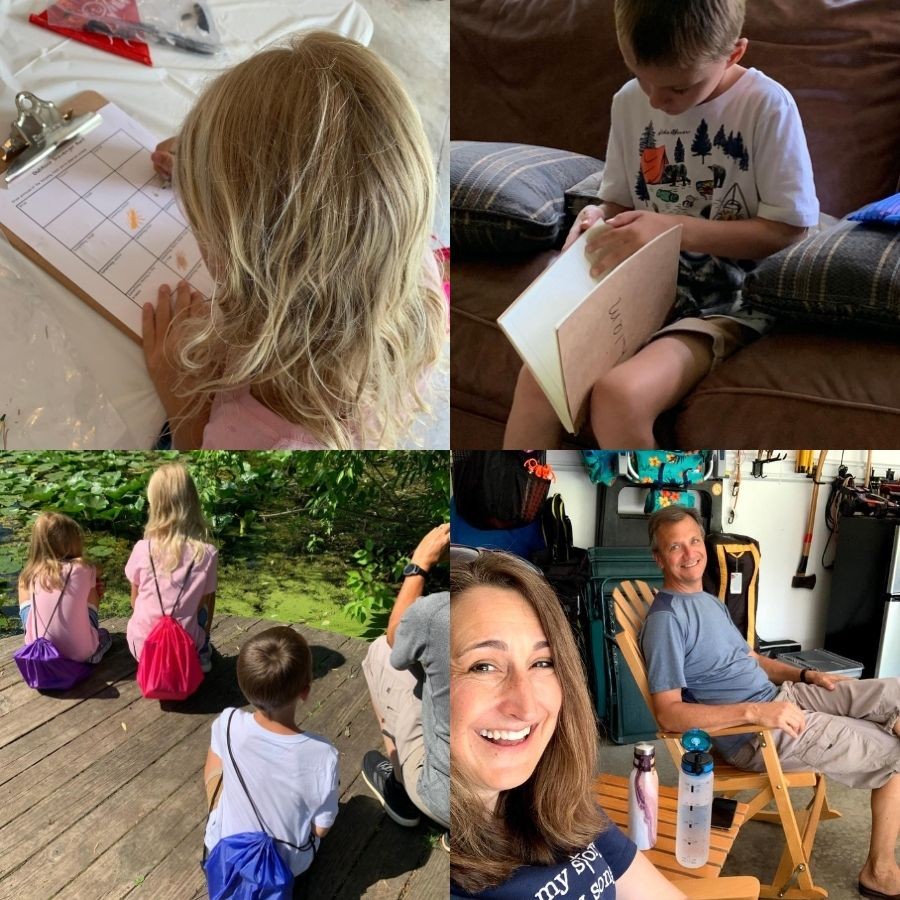 This summer, we decided to create a camp experience for our grandkids in our backyard. It was a fun way to create sweet memories with our grandchildren.