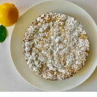 Belgian Lemon Tea Cake