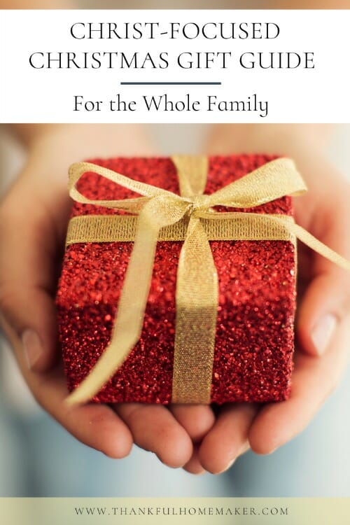 Christmas shopping can get a bit overwhelming and I wanted to help you (and myself) to make it a bit less complicated. I love to find gifts for family and friends that point to Jesus.