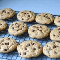 The BEST EASY Paleo Chocolate Chip Cookies!