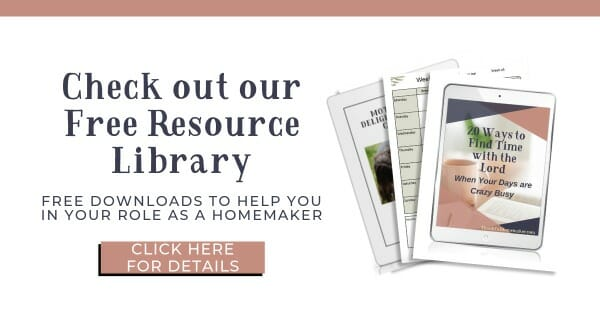 Free Resource Library Thankful Homemaker @mferrell