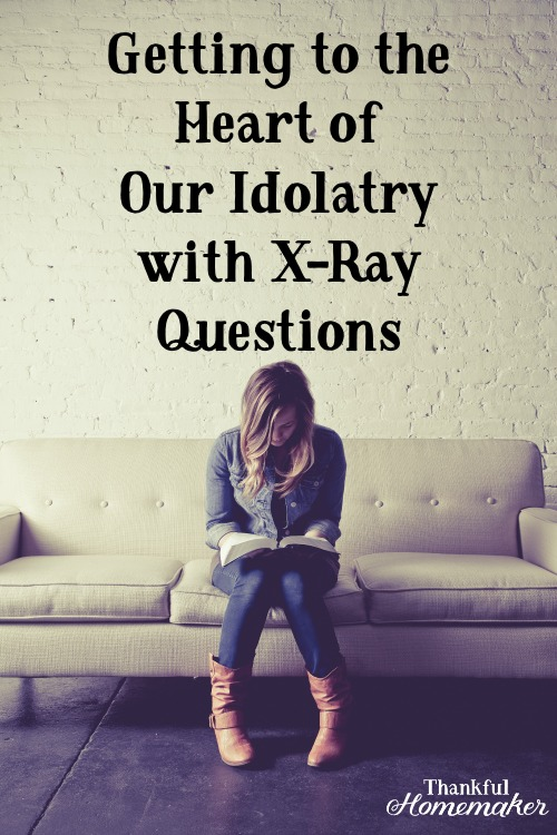 What are the idols in our lives that need revealed and destroyed? @mferrell