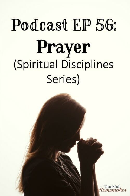 Prayer reminds us we are dependent on God for every aspect of our lives and we grow in that relationship by communing with Him in prayer. #prayer #praying #howtopray @mferrell