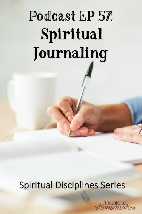 Spiritual journaling is a way to slow our lives down and ponder deeply over the events of the day. @mferrell