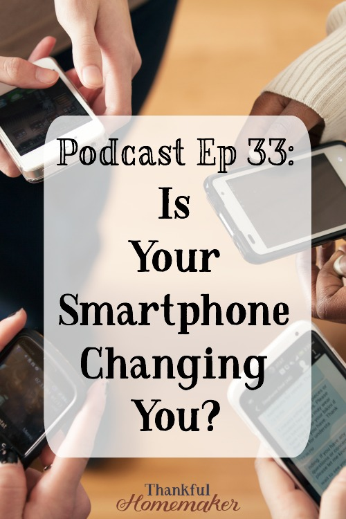 Is Your Smartphone Changing You? Do we master our smartphones or do they master us? @mferrell