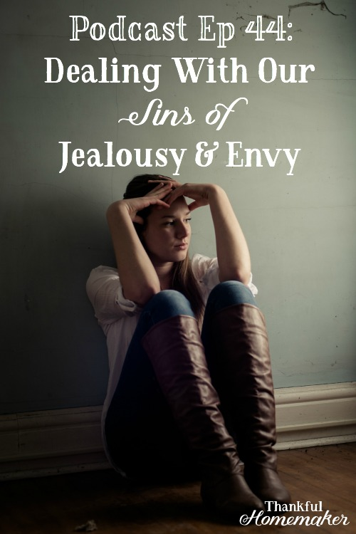 Podcast Ep 44:Dealing With Our Jealousy & Envy -When we find ourselves dealing with jealousy comparing ourselves to others or envious of others, it's like we're saying to God that we're not satisfied with what He's given us. @mferrell