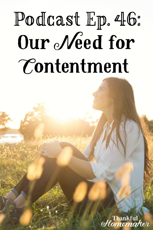 Podcast Ep 46: Our Need for Contentment -Contentment in our walk as believers is learned, just as Paul learned it, so do we as we walk this walk with the Lord. It does not come naturally to us. @mferrell