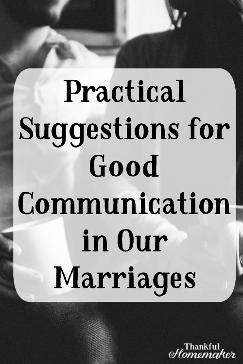 Communication with our spouses is foundational for a good marriage. Our marriages are our closest relationships and the hope is they would be spurring us on to love God more and through that loving each other more. @mferrell