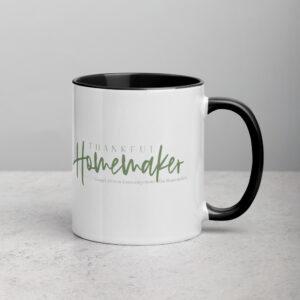 TH Ceramic Gospel-Driven Encouragement Mug - Sage Green