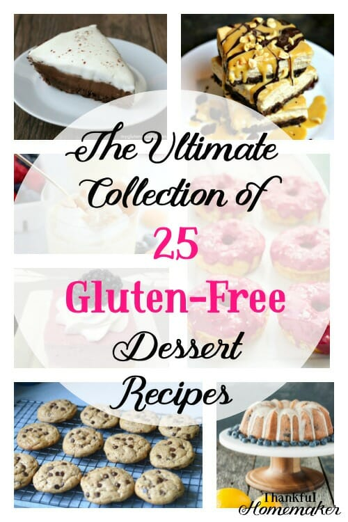 Are you gluten-free and have a sweet tooth? You have come to the right place—all your dessert needs in one place. If you're not gluten-free, you're still going to love all these scrumptious options to choose from for your next gathering or just making a dessert for your family. #glutenfreedesserts #glutenfree #desserts @mferrell