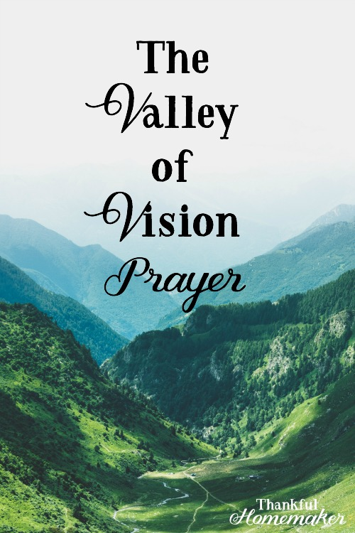 The Valley of Vision Prayer -I'm sharing today a prayer from a well-loved prayer book that has been impactful in my prayer life. @mferrell